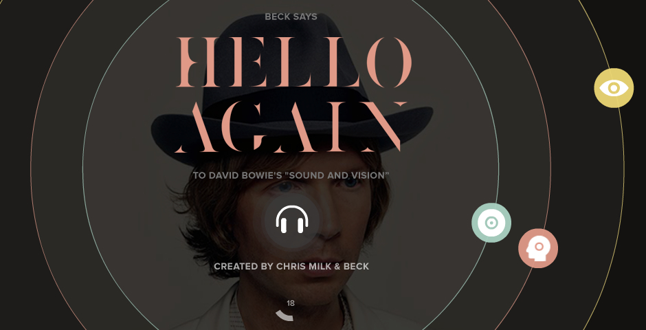 Webby Award Winner - Hello Again: Beck 360º Experience.