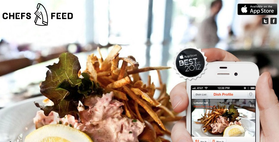 Webby Award Winner - Chefs Feed