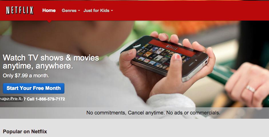 People's Voice - Netflix App