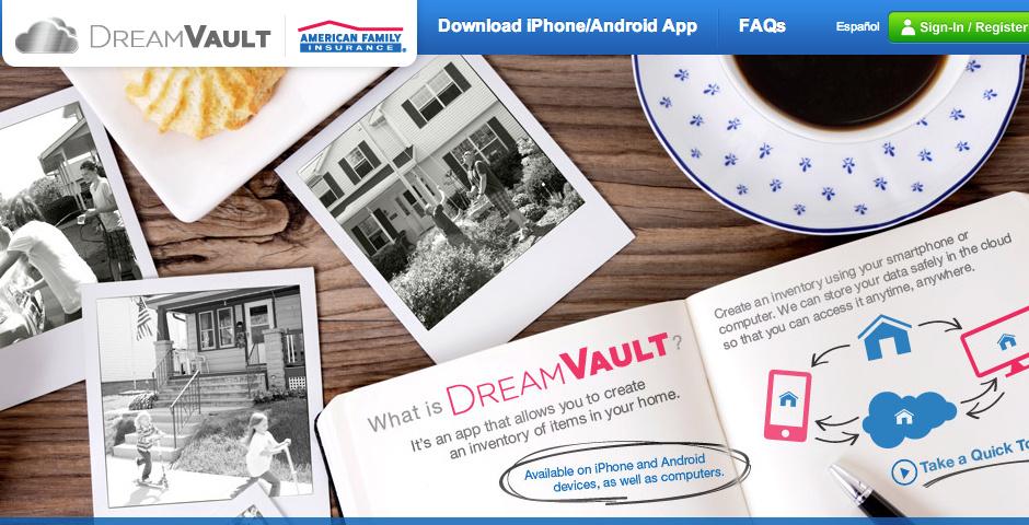 Webby Award Nominee - DreamVault