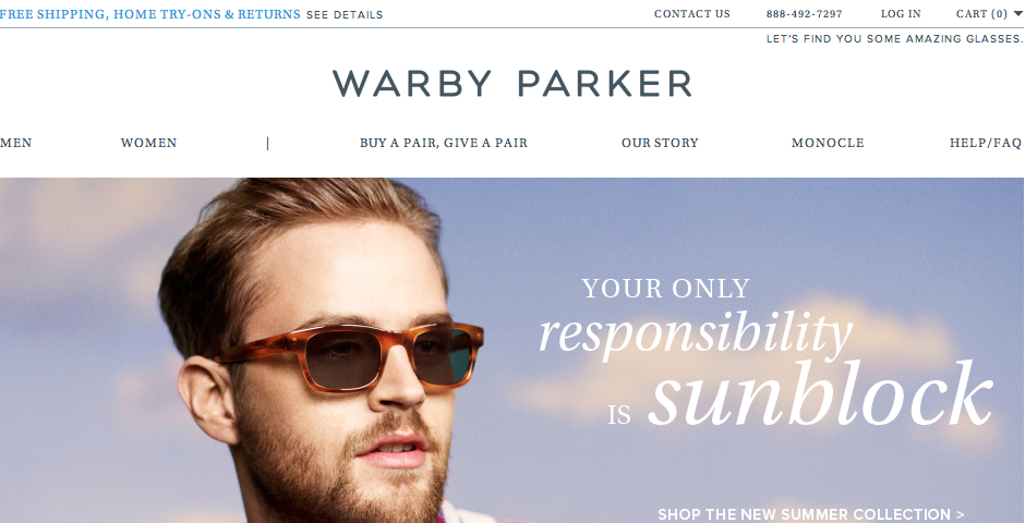 Nominee - Warby Parker