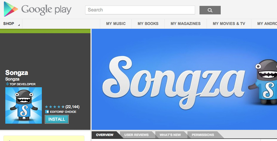 Nominee - Songza