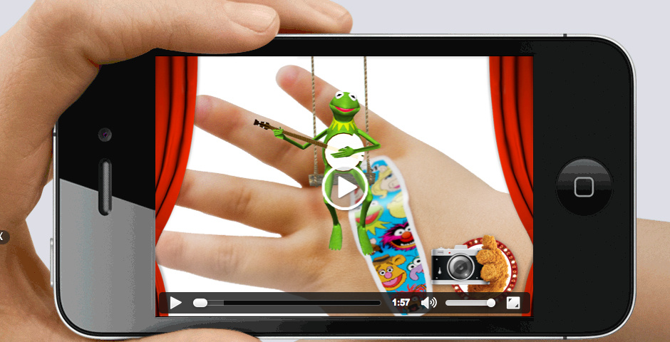 2013 Webby Winner - Band-Aid Magic Vision