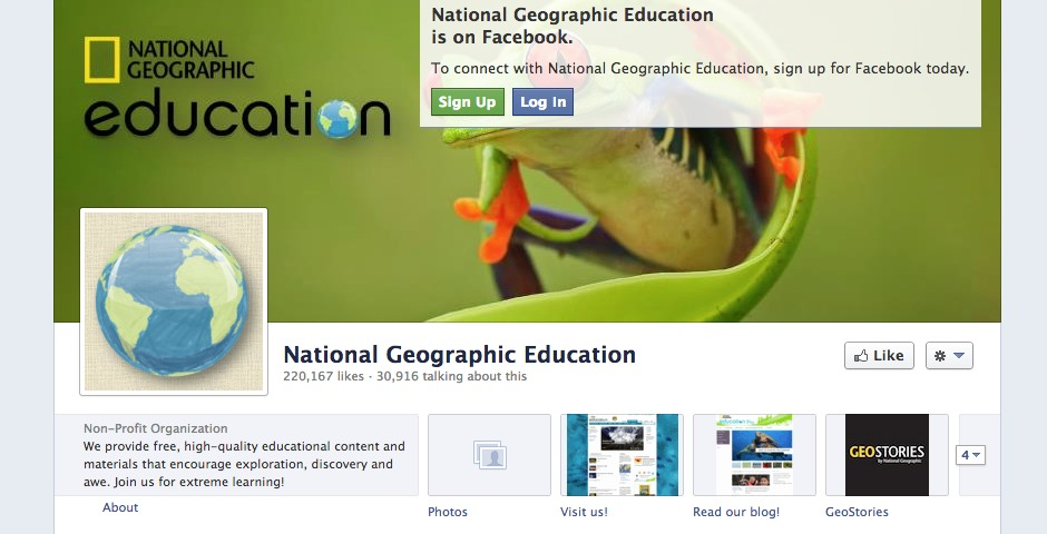 Nominee - National Geographic Education Social Media