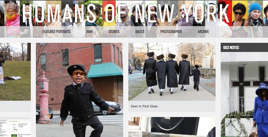 2013 Webby Winner - Humans of New York