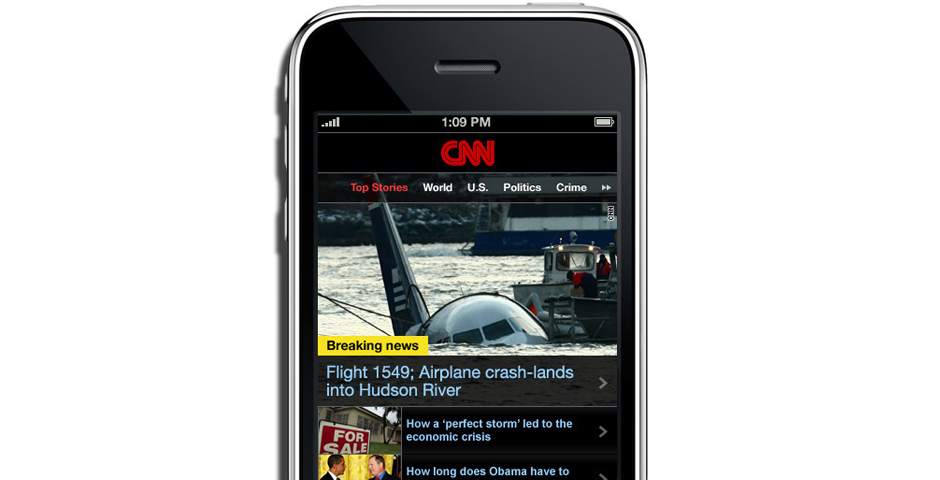 Webby Award Winner - CNN Mobile Web