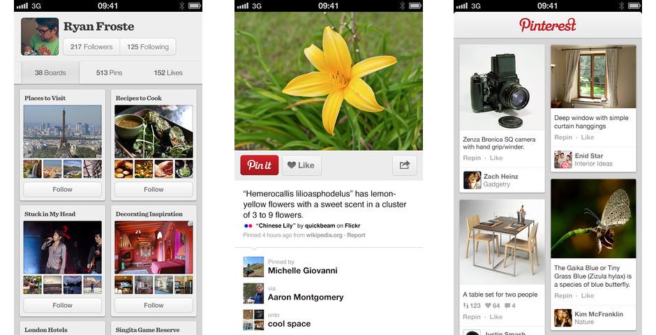 People's Voice / Webby Award Winner - Pinterest