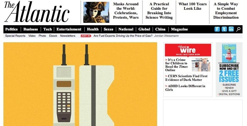 Webby Award Nominee - TheAtlantic.com