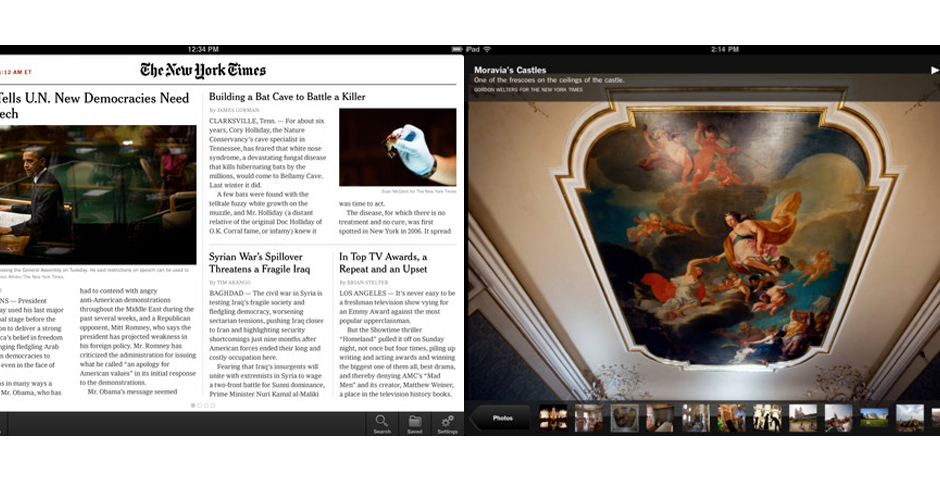 Nominee - NYTimes for iPad
