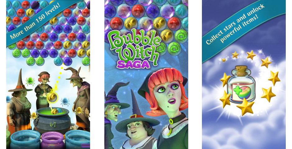 Nominee - Bubble Witch Saga