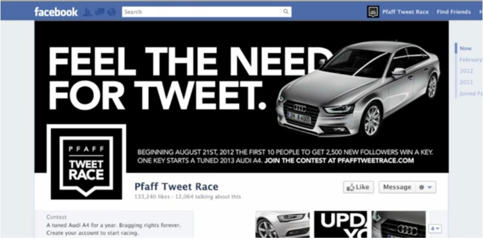Nominee - Tweet Race