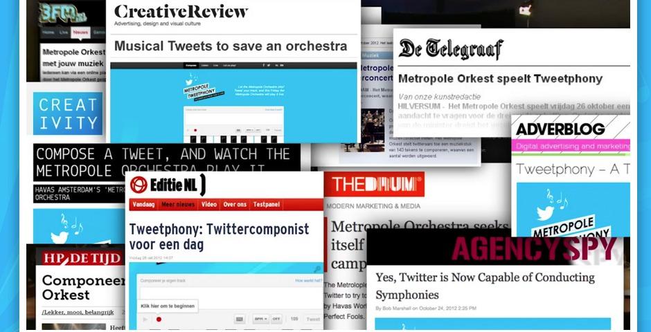 Webby Award Winner - Metropole Tweetphony