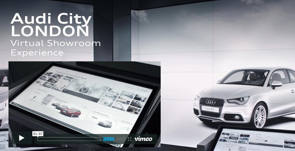 Webby Award Nominee - Audi City