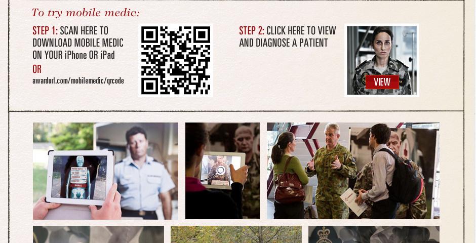 Webby Award Nominee - Mobile Medic