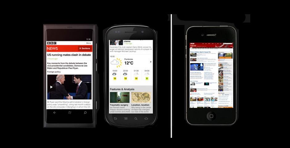 Webby Award Nominee - BBC News mobile