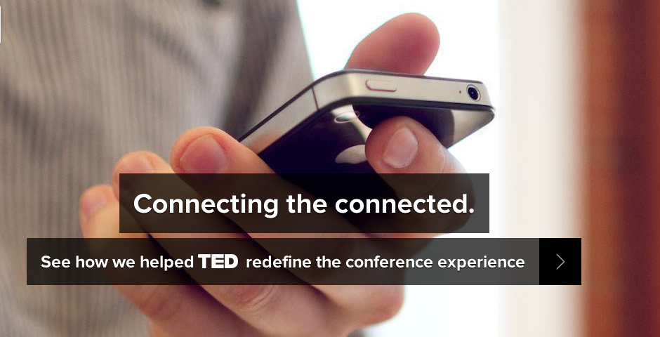 2013 Webby Winner - TED Connect