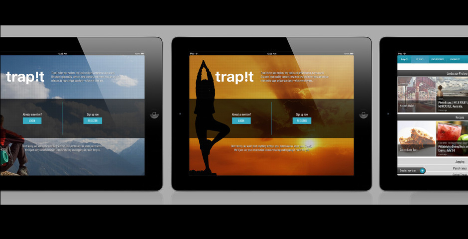 Nominee - Trapit for iPad