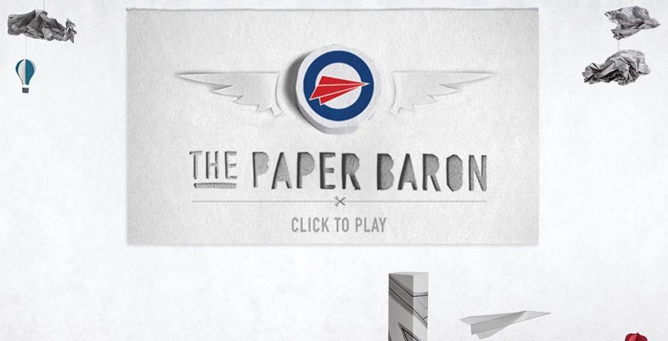 Webby Award Winner - Paper Baron