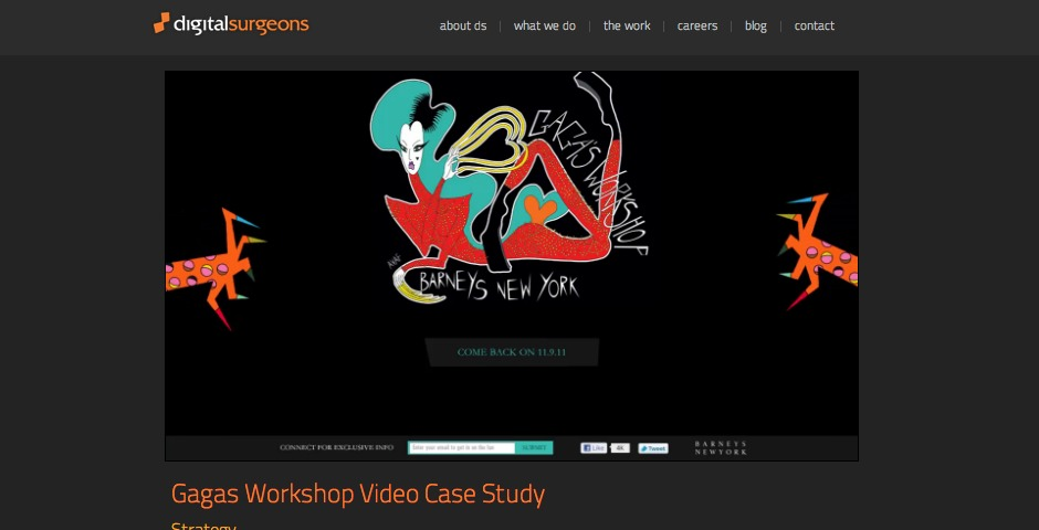 Webby Award Winner - Gaga's Workshop