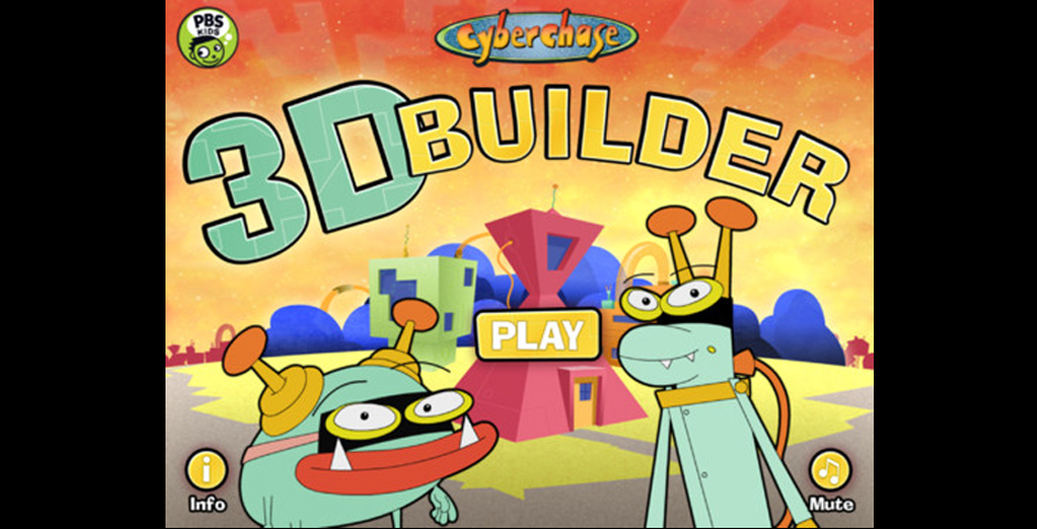 Nominee - Cyberchase 3D Builder