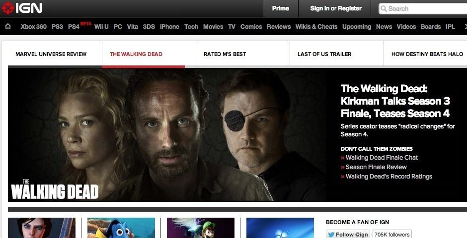 Webby Award Nominee - IGN.com