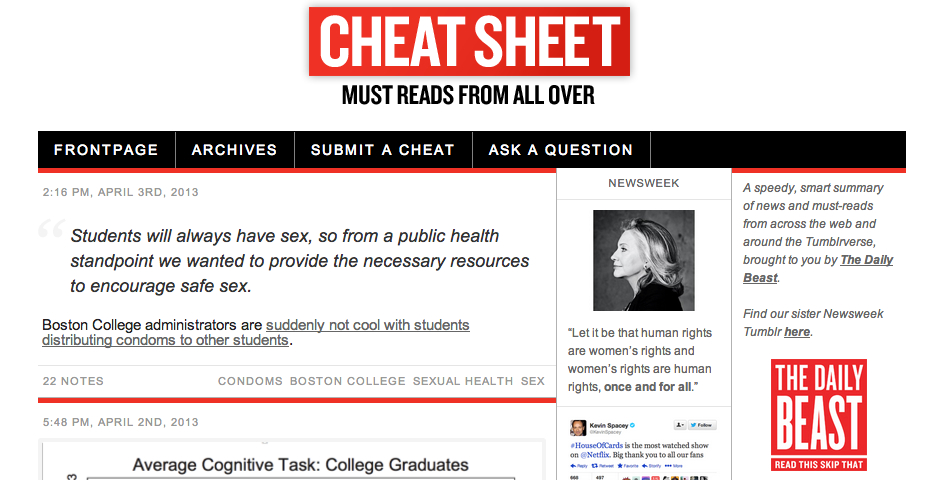 Nominee - The Daily Beast Social