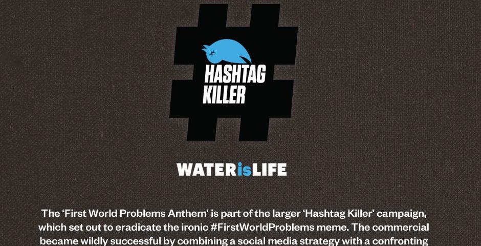 2013 Webby Winner - Hashtag Killer