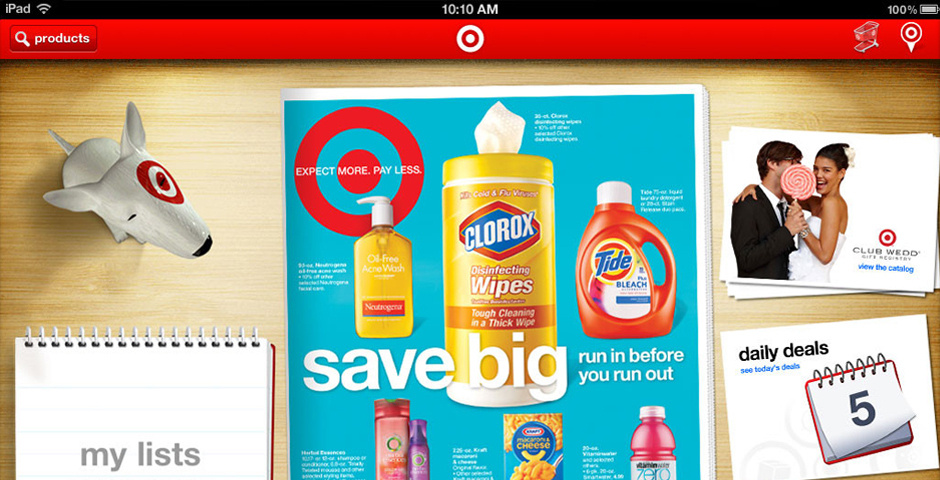 Webby Award Nominee - Target for iPad