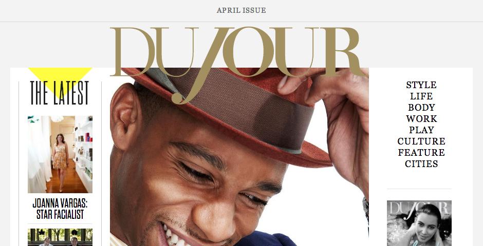 Webby Award Winner - Dujour.com