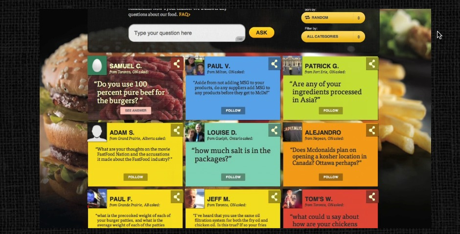 People's Voice / Webby Award Winner - Our Food. Your Questions.
