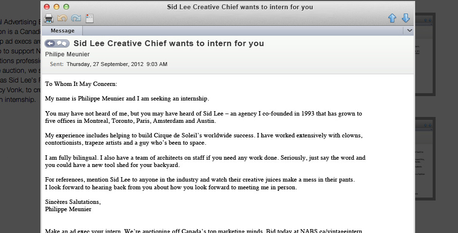 Webby Award Nominee - Over Qualified Interns Emails