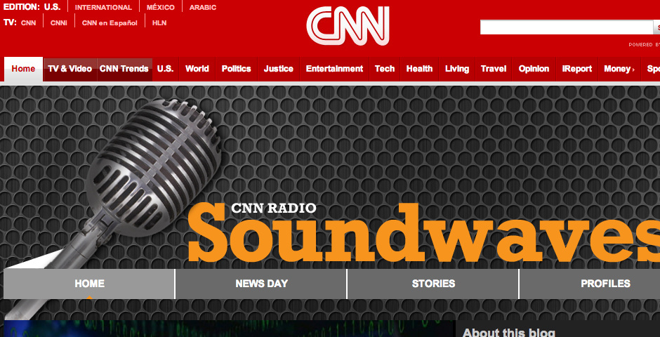 Nominee - CNN Soundwave
