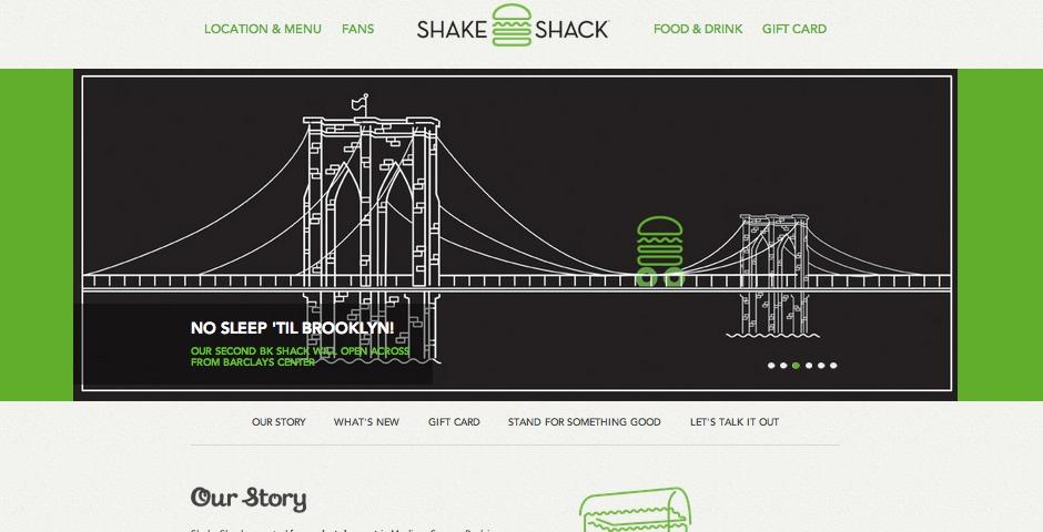 Webby Award Winner - Shake Shack