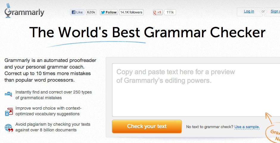Webby Award Nominee - Grammarly