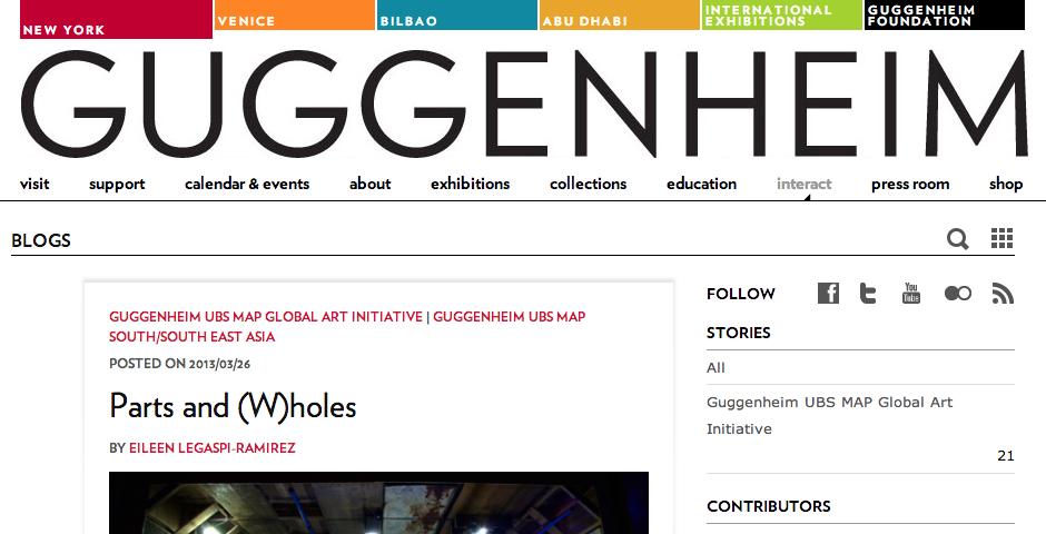 Nominee - Guggenheim Blogs