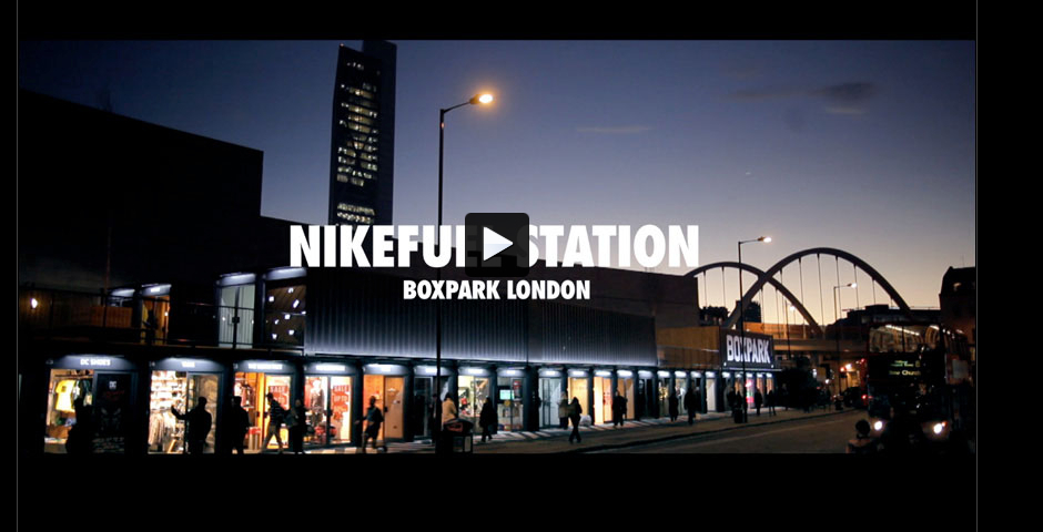 Nominee - Nike Fuel Station