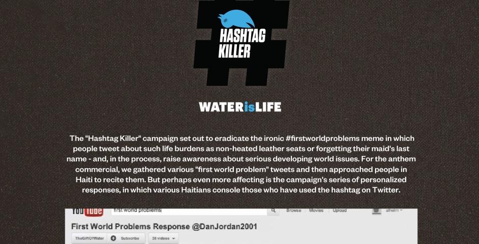 Webby Award Winner - Hashtag Killer