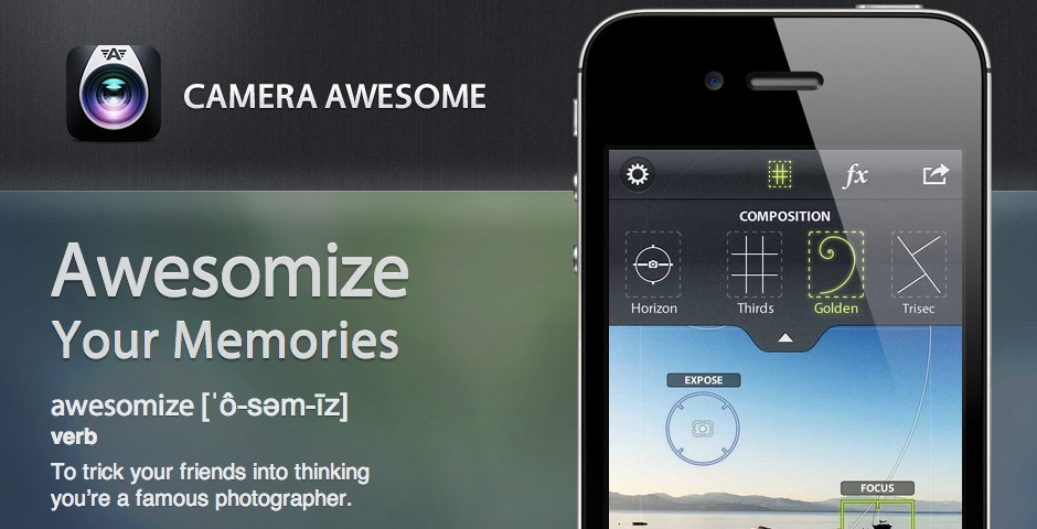 Nominee - Camera Awesome for iPad