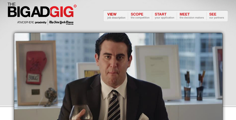 Nominee - The Big Ad Gig