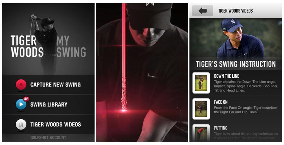 Webby Award Nominee - Tiger Woods: My Swing
