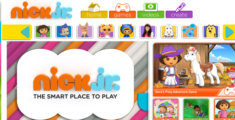 Webby Award Winner - Nick Jr. Playtime