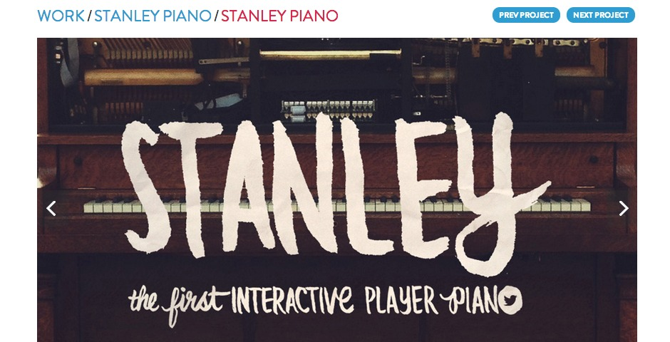Nominee - Stanley Piano