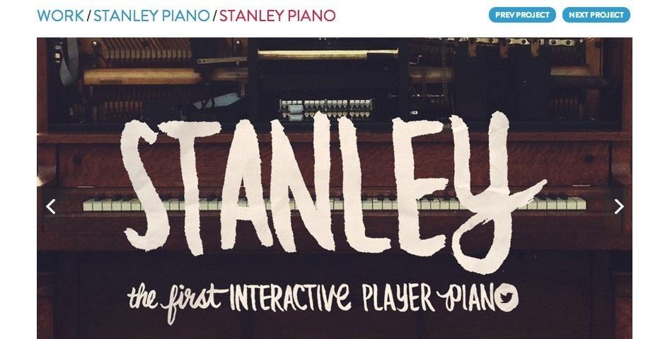 Webby Award Nominee - Stanley Piano