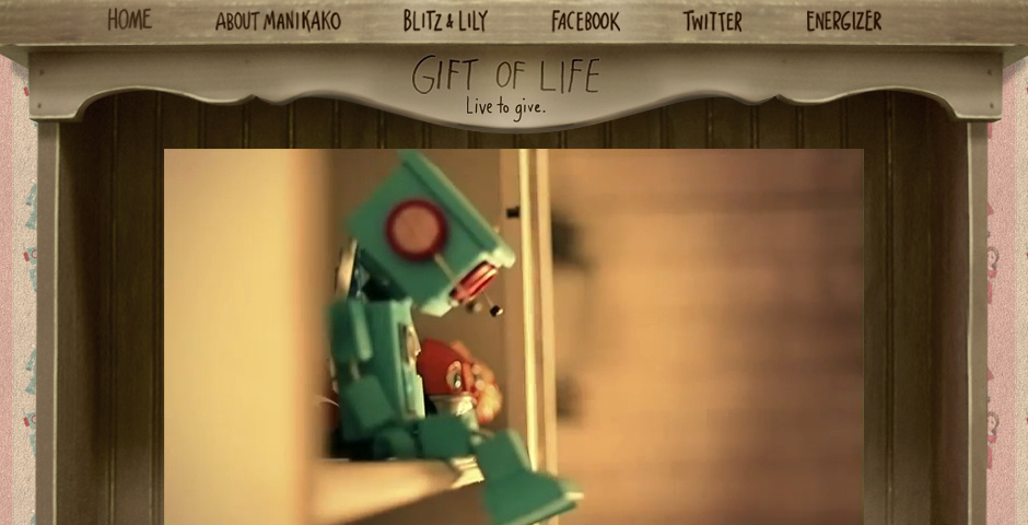 2013 Webby Winner - Gift Of Life