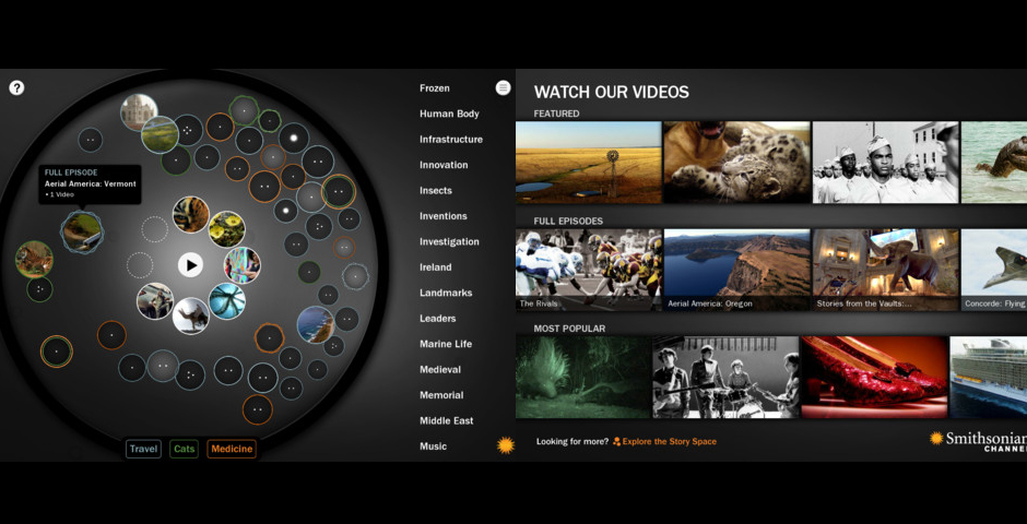 Nominee - Smithsonian Channel for iPad