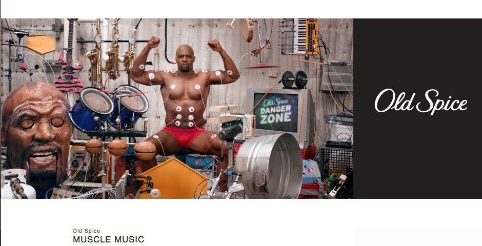 2013 Webby Winner - Old Spice Muscle Music