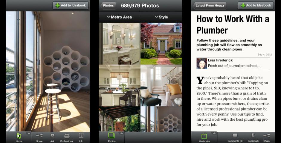 People's Voice - Houzz iPad App