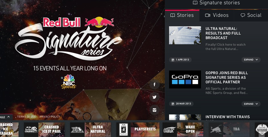 Nominee - Red Bull Signature Series