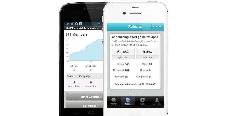 Webby Award Nominee - MailChimp Mobile App