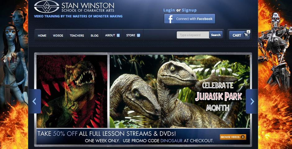 2013 Webby Winner - Stan Winston School of Character Arts